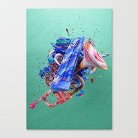 Colour Form & Expression… Canvas Print