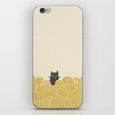 Cat And Yarn iPhone & iPod Skin
