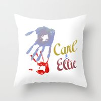Carl & Ellie Throw Pillow