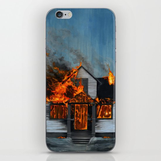 House on Fire iPhone & iPod Skin