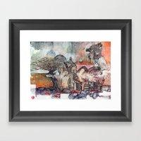 The Coalition Framed Art Print