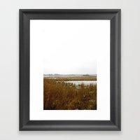 The Salt Marsh Framed Art Print