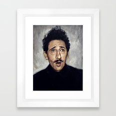Adrien Brody / Grand Budapest Hotel Framed Art Print