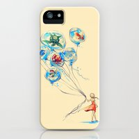 iPhone 5s & iPhone 5 Cases featuring Water Balloons by Alice X. Zhang