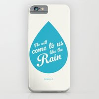 He Will Come To Us Like The Rain iPhone 6 Slim Case