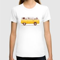 world T-shirts featuring Yellow Van by Florent Bodart / Speakerine