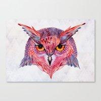 Owla owl Canvas Print