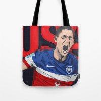 USA World Cup 2014 Tote Bag