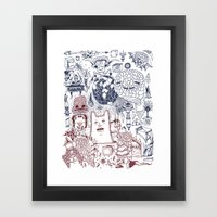 The Storm Brings A New S… Framed Art Print