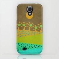 Galaxy S4 Cases featuring Geometric Spring 02 by ViviGonzalezArt