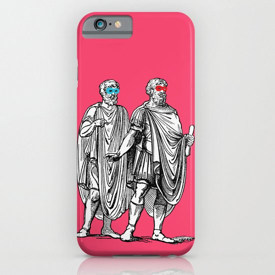 Classic men have a party iPhone & iPod Case