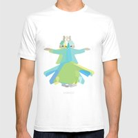 Mevlana - Whirling Dervi… Mens Fitted Tee White SMALL