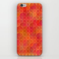 Stained Glass Sunrise iPhone & iPod Skin