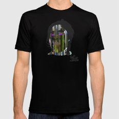 Input, Lost in Wonder, Lost in Love, Lost in Praise, forevermore  Mens Fitted Tee Black SMALL