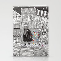 After Hours At The Chris… Stationery Cards