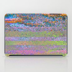 51-23-76 (Pastel Rainbow Glitch) iPad Case