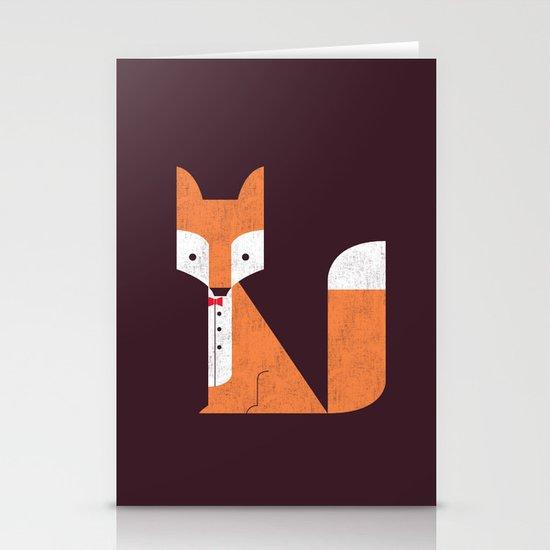Le Sly Fox Stationery Card