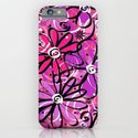Feeling Groovy in Purplicious Pink iPhone & iPod Case