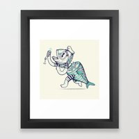 Selfishy Framed Art Print