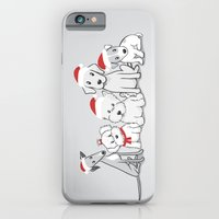 Christmas Dogs iPhone 6 Slim Case