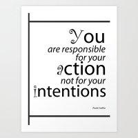 Inspirational Quotes Art Print