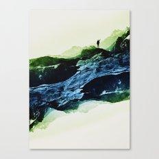 Blue Contact Canvas Print