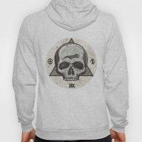 Skull & symbols Hoody