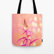 Little Dragonfly In A Wo… Tote Bag