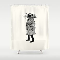 January Shower Curtain