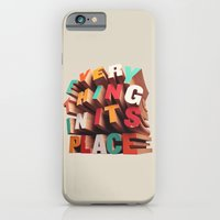 iPhone & iPod Case featuring Everything In Its Place by David McLeod