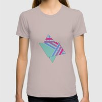 Step in Line Womens Fitted Tee Cinder SMALL