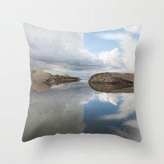 Sand and Sky  Throw Pillow