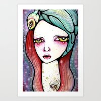 We Are All Just Star Dus… Art Print