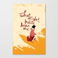 What Might Have Been Me Canvas Print