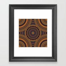 Mandala 187 Framed Art Print