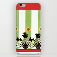 Pineapple Fields Forever iPhone & iPod Skin