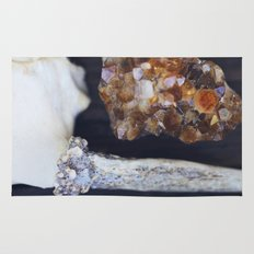 Citrine and Bone Rug