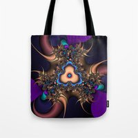 Abstract Thorn Fractal Tote Bag