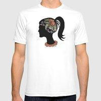 Thought Patterns Mens Fitted Tee White SMALL
