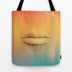 Data Kiss Tote Bag