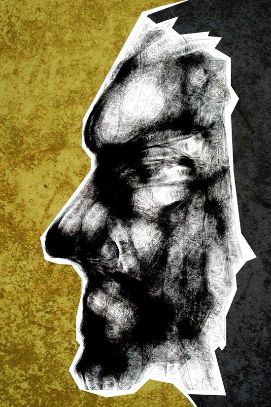 Mask #1 - Grit Art Print