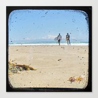 Monday Morning Surf - Through The Viewfinder (TTV) Canvas Print