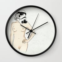Sexy Stormtrooper - Star… Wall Clock