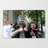 D*Con: Happiness is... Canvas Print