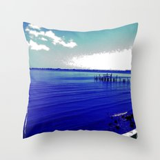 Verano Fresco Throw Pillow