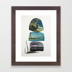 I'll take you there as soon as I hit the big time, promise Framed Art Print