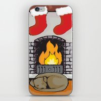 Canine Christmas (Firesi… iPhone & iPod Skin