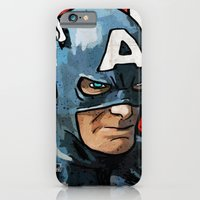 iPhone & iPod Case featuring Captain America by Ed Pires