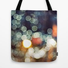 Bokeh Nights Tote Bag