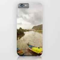 Fishing port in Goa, India iPhone 6 Slim Case